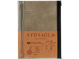�}�[�N�X Notebook M STORAGE.it B6�ό^�x�[�W�� STI-NB51-C