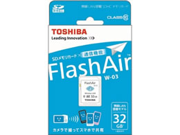 ���� FlashAir SDHC�������[�J�[�h 32GB SD-WE032G