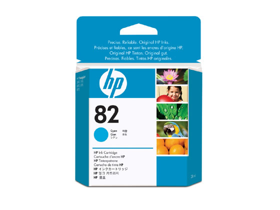 HP インクカートリッジ シアン HP82 (CH566A) CH566A  HP82