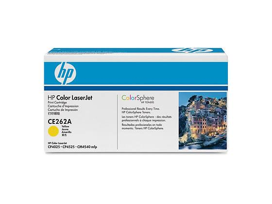 HP プリントカートリッジ イエロー CE262A
